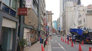 山形田のある通り