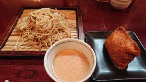 お蕎麦と稲荷寿司